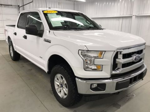 Pre-Owned 2017 Ford F-150 XLT 4WD 4D SuperCrew
