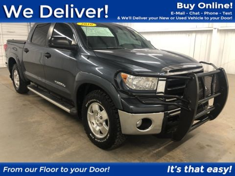 Pre-Owned 2010 Toyota Tundra SR5 RWD 4D CrewMax
